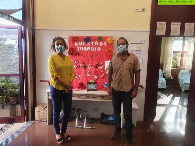 El Centro de Día de Tijarafe reabre sus puertas aplicando nuevas medidas de prevención frente al COVID-19