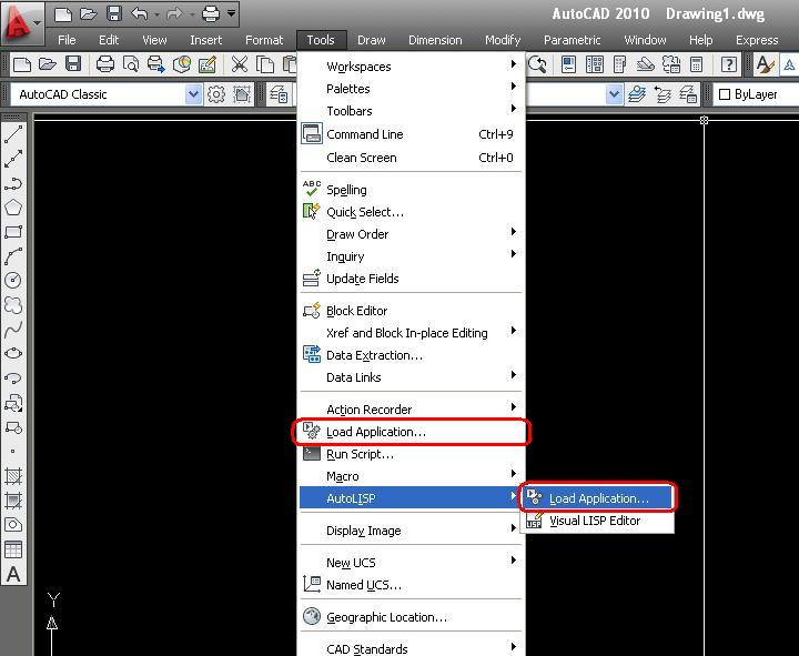 My Tech/VB6 Stuff: How to load a program each time AutoCAD starts up