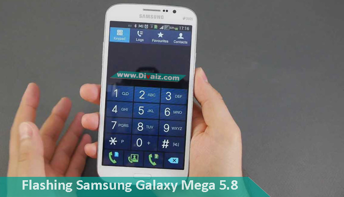 Cara Flash Samsung Galaxy Mega 5.8 Duos GT-I9152 Atasi Bootloop