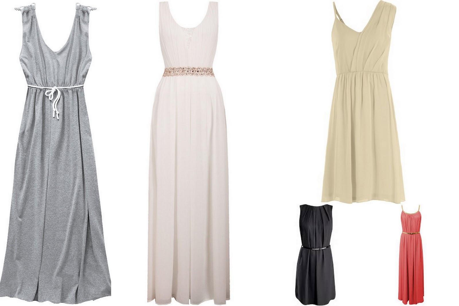 Sukienki w greckim stylu