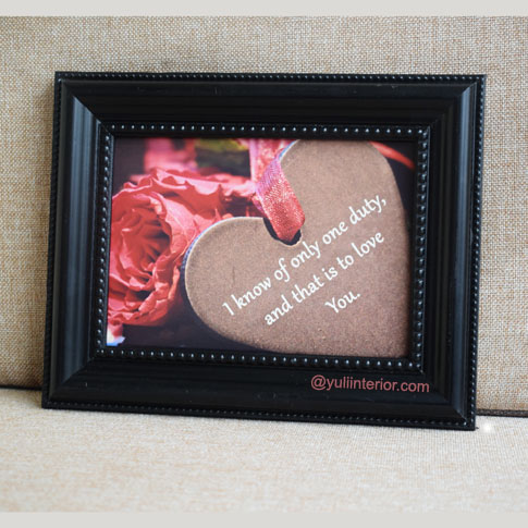Wall Frame Gift for Lovers in Port Harcourt, Nigeria