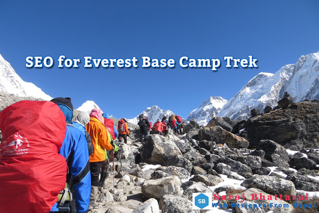 Everest Base Camp Trekking SEO Keyword