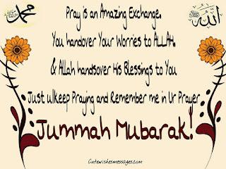 beautiful jumma mubarak