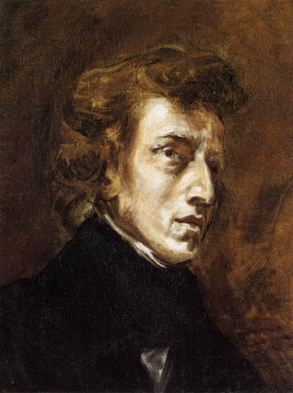 Chopin por Delacroix