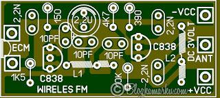 Cara Membuat Mini Wireles Pemancar Fm 3 Volt DC