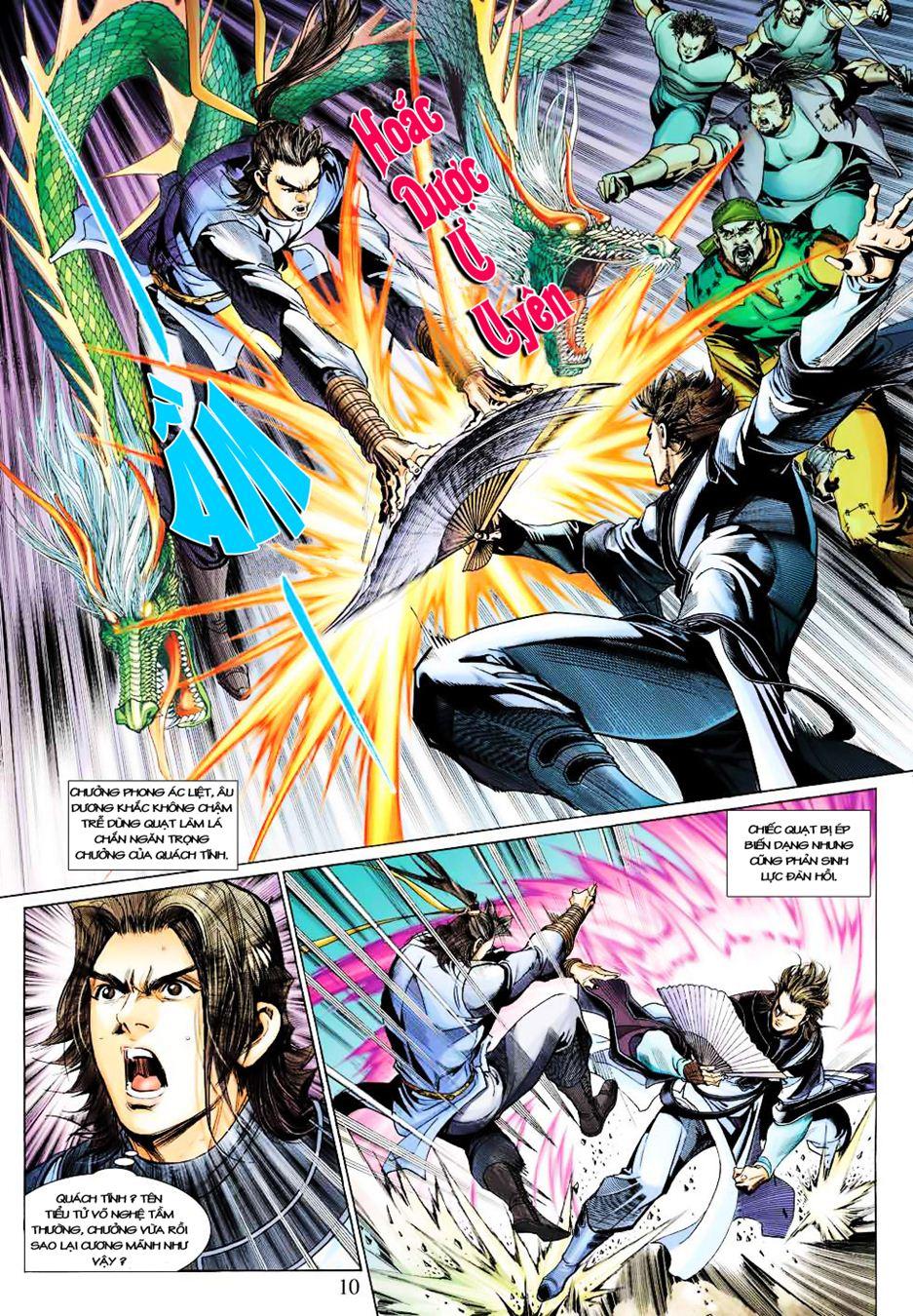 Anh Hùng Xạ Điêu anh hùng xạ đêu chap 35 trang 11