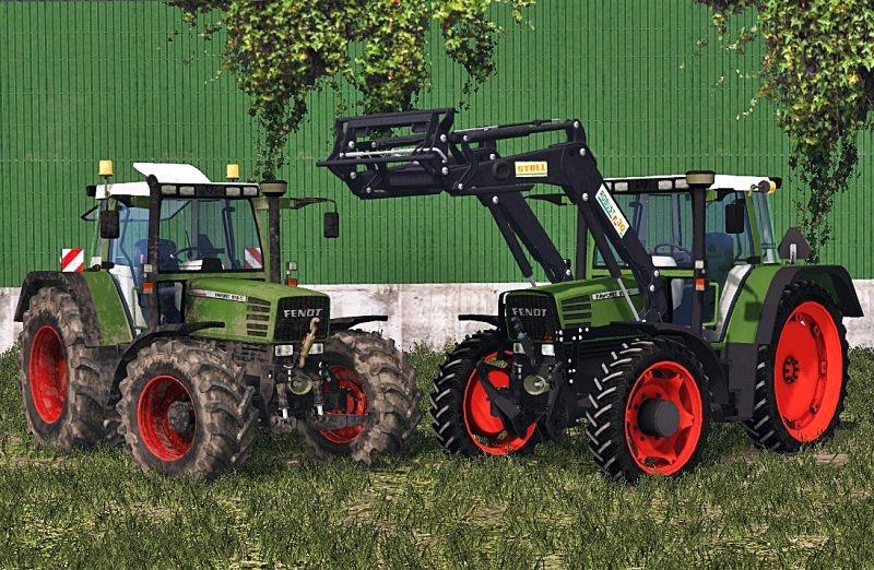Fendt Favorit 512/515C tractor