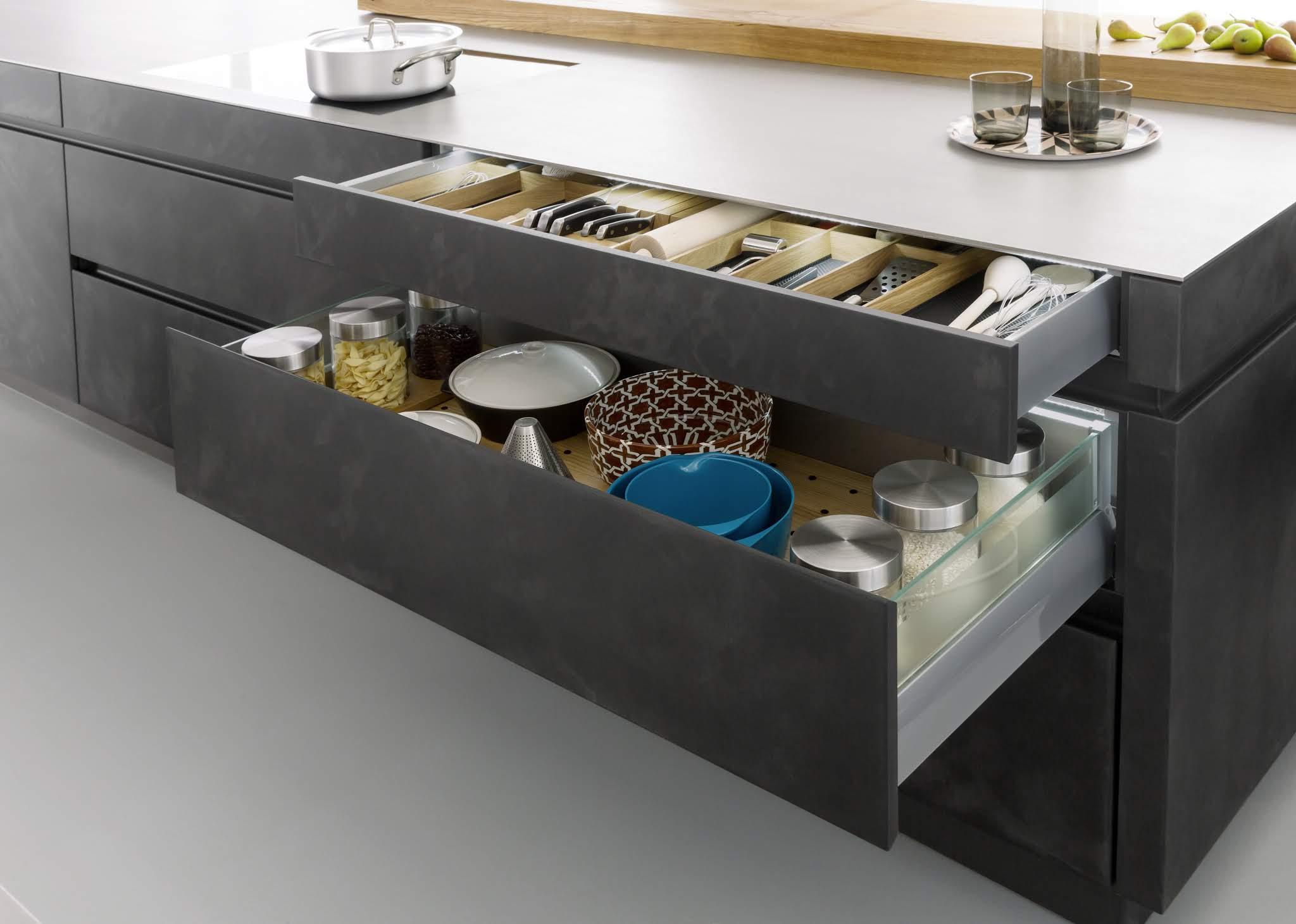 Storage system in the kitchen