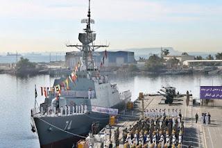 Kapal Perang Sahand  Iran