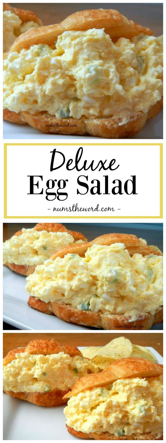 ★★★★☆ 7561 ratings | Deluxe Egg Salad #HEALTHYFOOD #EASYRECIPES #DINNER #LAUCH #DELICIOUS #EASY #HOLIDAYS #RECIPE #Deluxe #Egg #Salad
