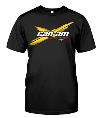 Can-Am Team Brp Atv Tshirts Hoodie Sweatshirt sweater Tank Tops