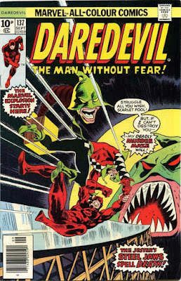 Daredevil #137, the Jester is back