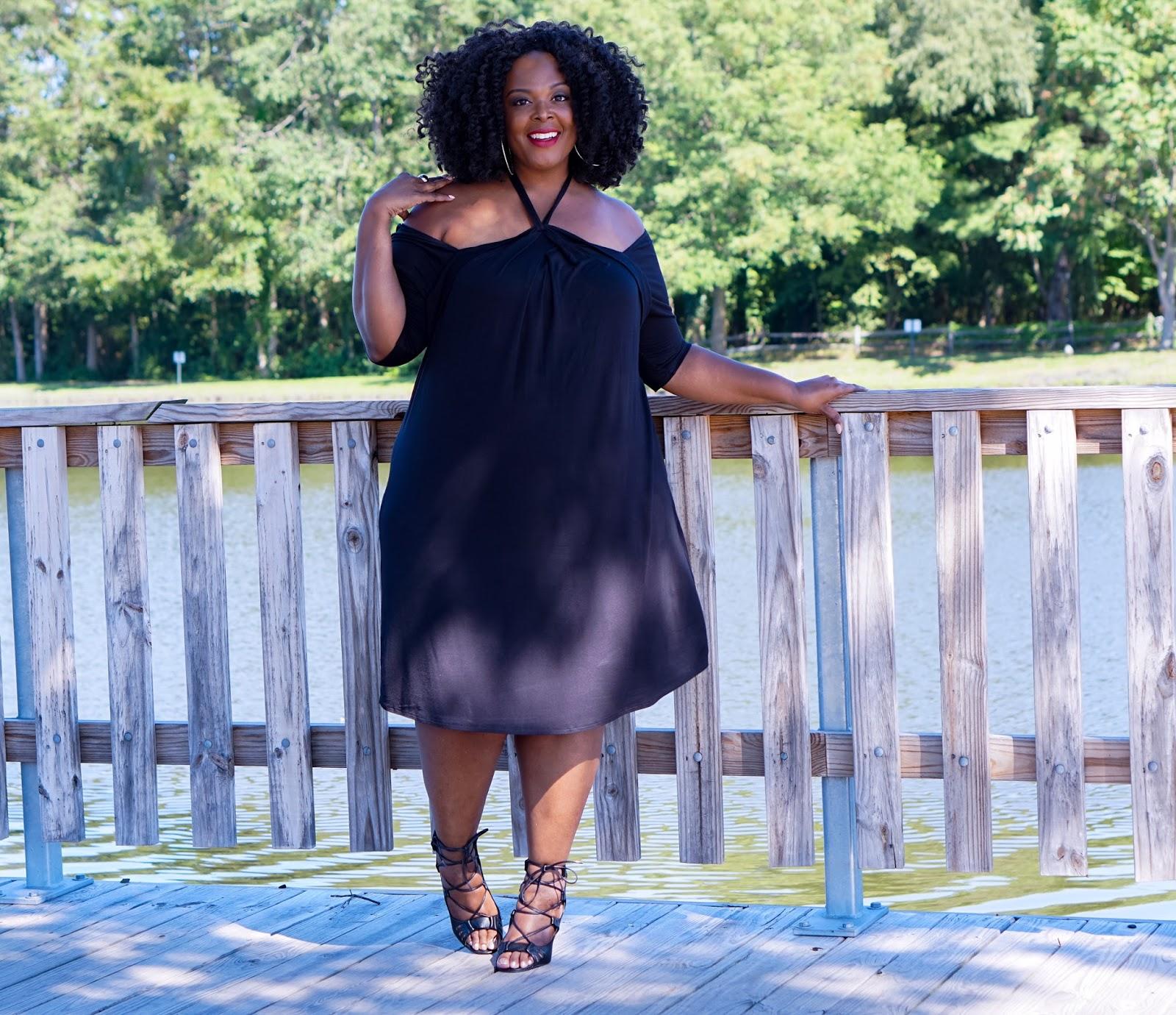 Big Bella Donna Kiyonna Swing Dress