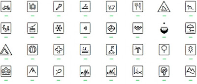 Siruca pictograms