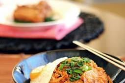 Spicy Pork and Kimchi Fried Rice