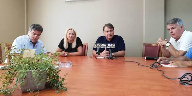 Έκτακτη σύσκεψη της Πολιτικής Προστασίας του Δήμου Άργους Μυκηνών