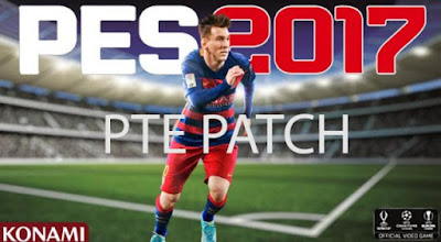 Download Gratis PES 2017 PTE Patch 2017 3.0 Plus Update 3.1