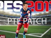 Download Gratis PES 2017 PTE Patch 2017 3.0 Plus Update 3.1