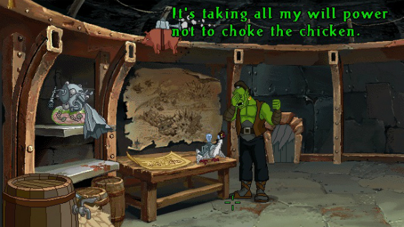 Se filtra Warcraft Adventures: Lord of the Clans, un point and click de la saga 1