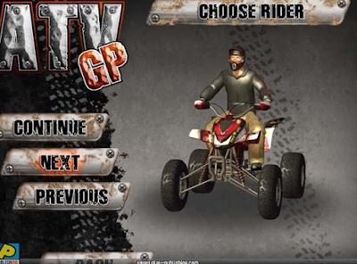 極限ATV越野賽(Mudracing Extreme ATV),模擬真實機車賽程度很高的賽車競速!