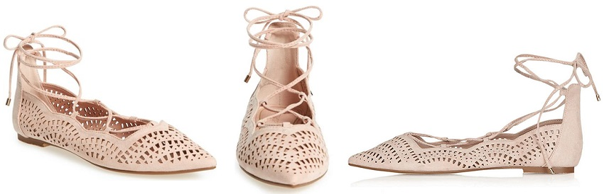 Topshop N Fase Laser Ghillie Flats for only $22 (reg $48)