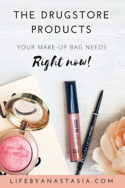 Drugstore make-up products your make-up bag needs now