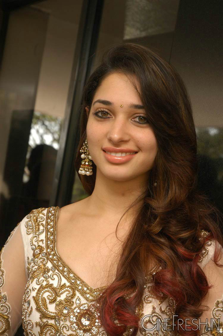 Tamanna Lips: Tamanna Raccha Venghai Movie Press Meet