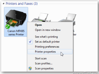 Sharing a Printer Between Two Computers