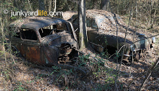 L.Z. Strickland move these cars onto his property many years before his death in 1977.