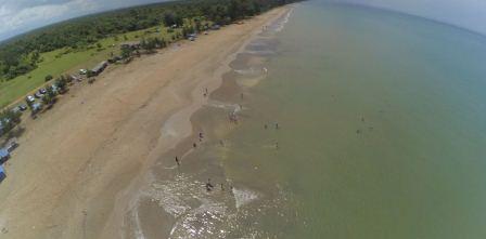 pantai sungai pampan banjarmasin