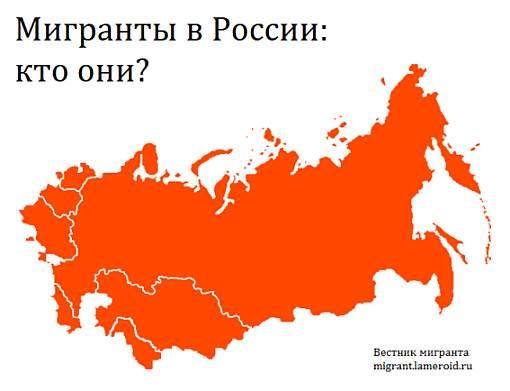 Мигранты в России: кто они?
