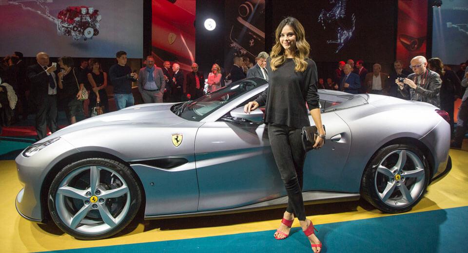 White Ferrari Car Price