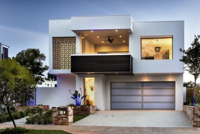 Mendesain Rumah Minimalis Dengan Model Eksterior Modern Terbaru