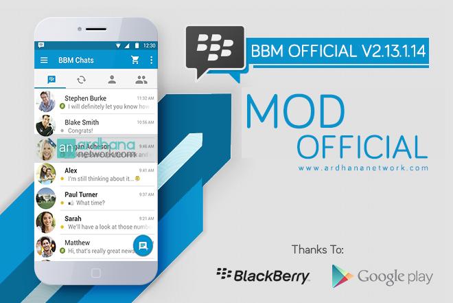 BBM MOD Official V2.13.1.14 - BBM Official Dengan Fitur Tambahan