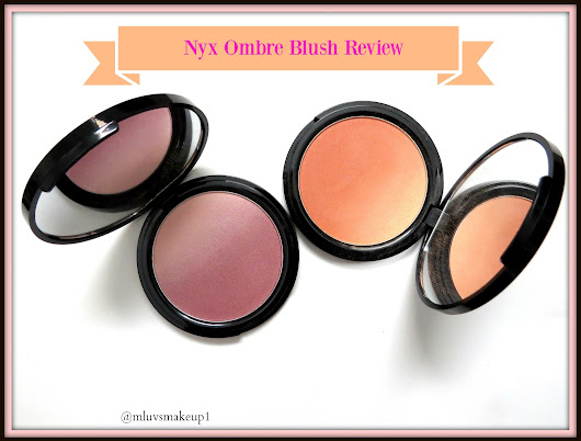 Nyx Ombre Blush Review: Mauve Me and Strictly Chic