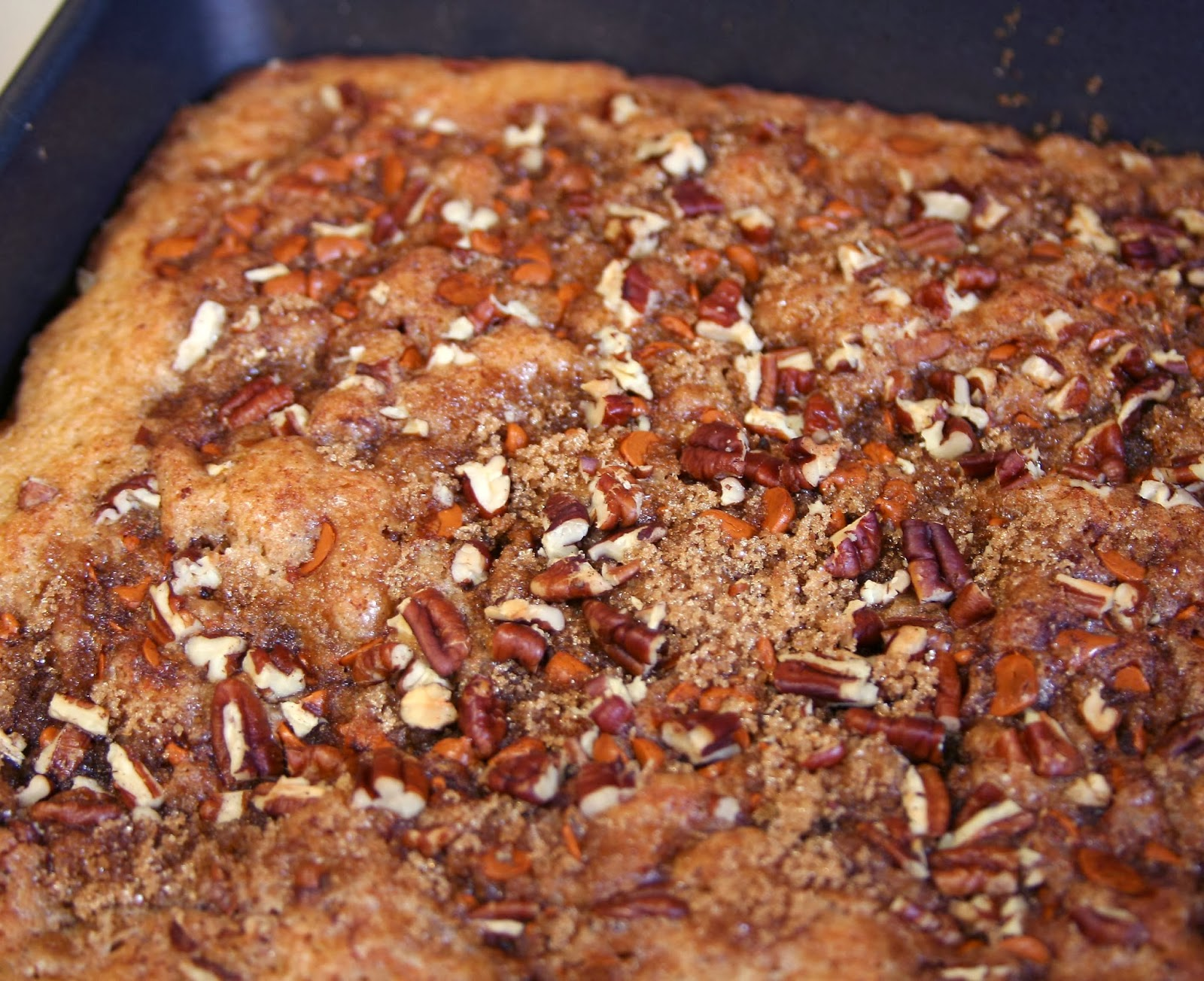 Coffee Cake Recipe King Arthur: Culturally Confused: King Arthur Flour: Overnight Coffee Cake