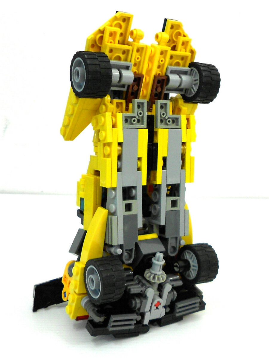Alanyuppie's LEGO Transformers: LEGO Neo Sunstreaker with ...