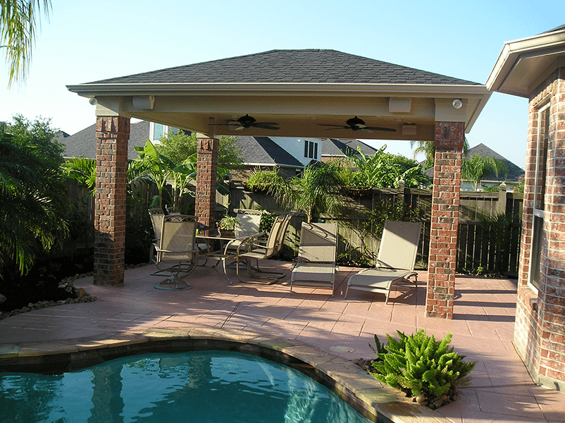 Custom Outdoor Patio Construction DFW 2