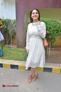 Actress Isha Talwar Pictures in White Dress at Meendum Oru Kadhal Kathai Movie Press Meet  0035.jpg
