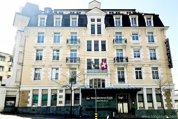 Best Western Plus Hotel Mirabeau in Lausanne