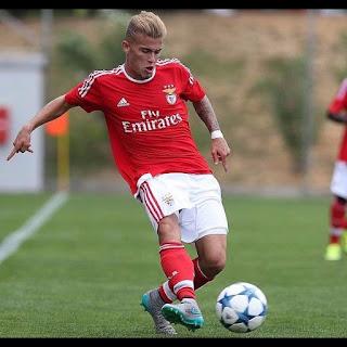 "Gonçalo ""Guga"" Rodrigues, jovem promessa do Benfica"