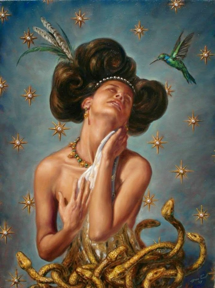 Барокко и магический реализм. Jose Parra