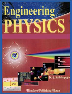[PDF] Engineering Physics B. Siddalingappa
