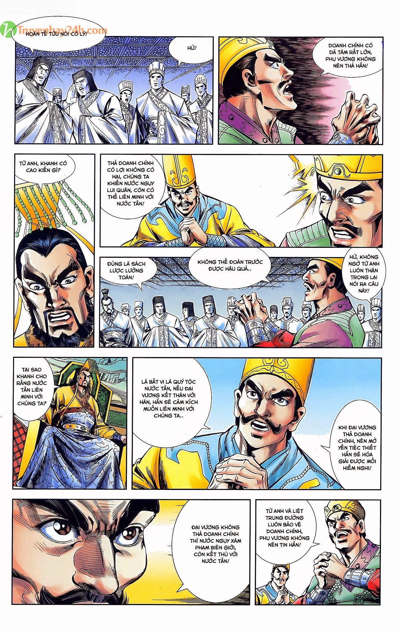 Tần Vương Doanh Chính chapter 31 trang 21