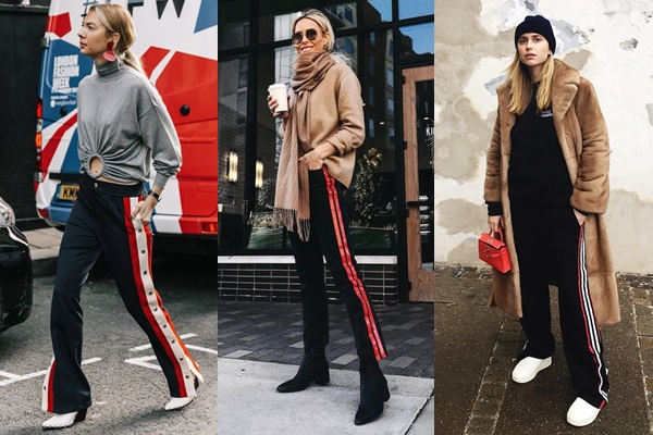 #ONTREND : TRACK PANTS Falling for A