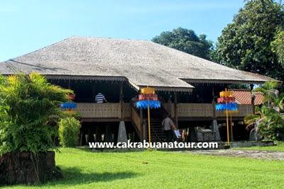 rumah adat khas belitung tour