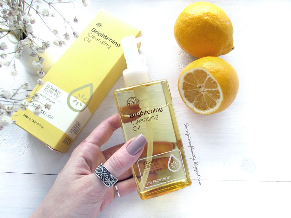 Гидрофильное масло для нормальной и сухой кожи Oil Specialist Brightening Cleansing Oil от The Face Shop / блог A Piece of Beauty