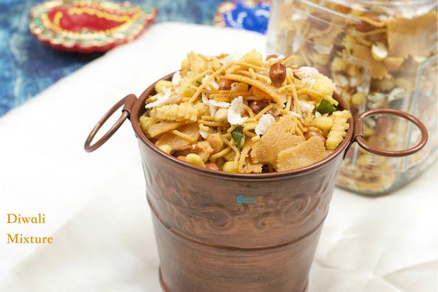 Mixture Recipe / Diwali Mixture Recipe
