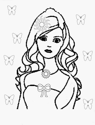 barbie logo coloring pages | Barbie Cake Coloring Pages – Colorings.net