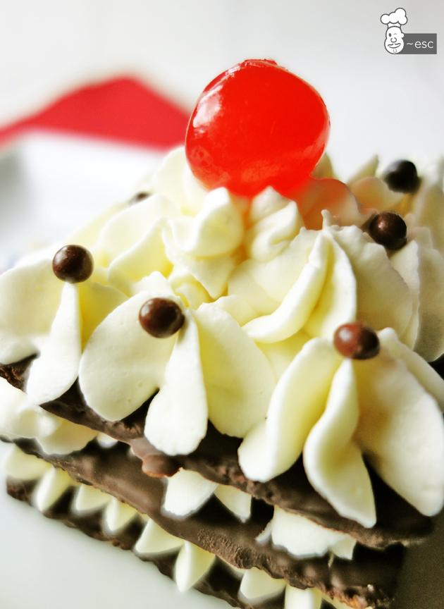 Postre de chocolate fácil para una celebración